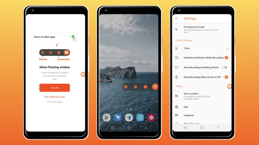 Android Screen Recorder With No Watermark sound