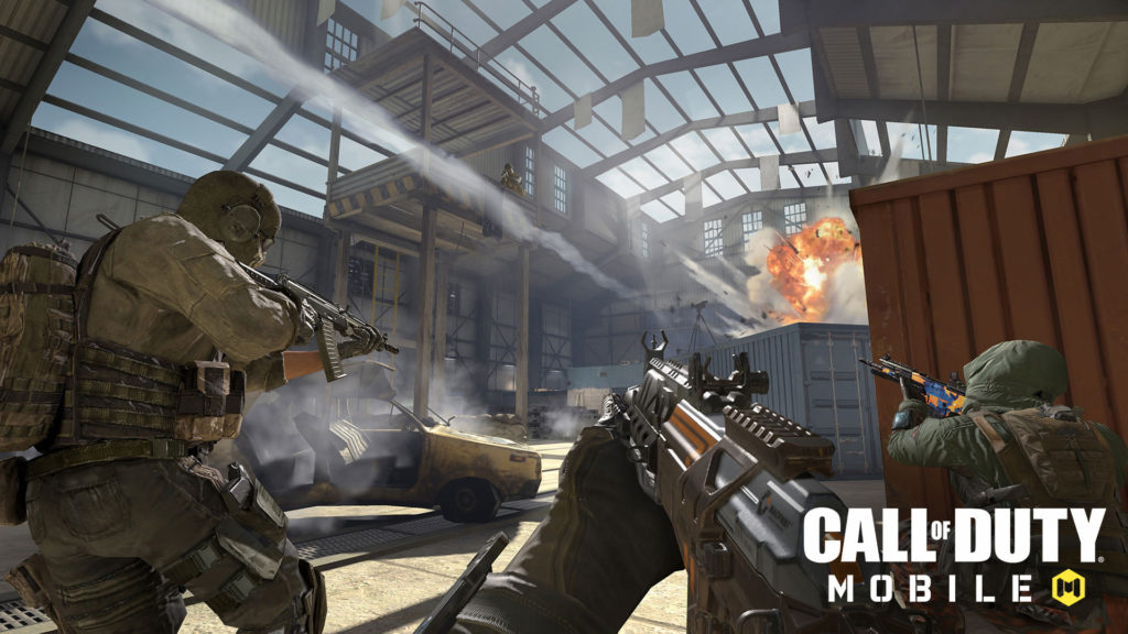Android mobile games Call of Duty