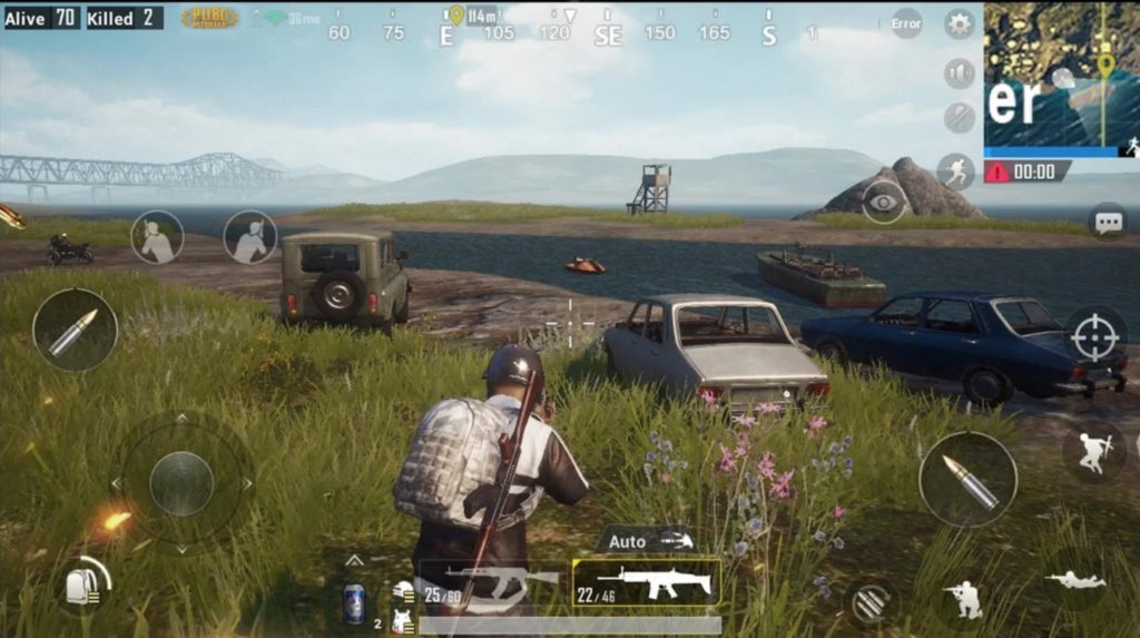Android mobile games PUBG