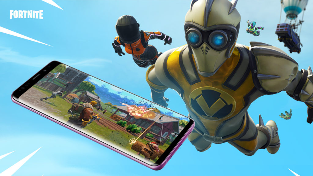 Android mobile games Fortnite