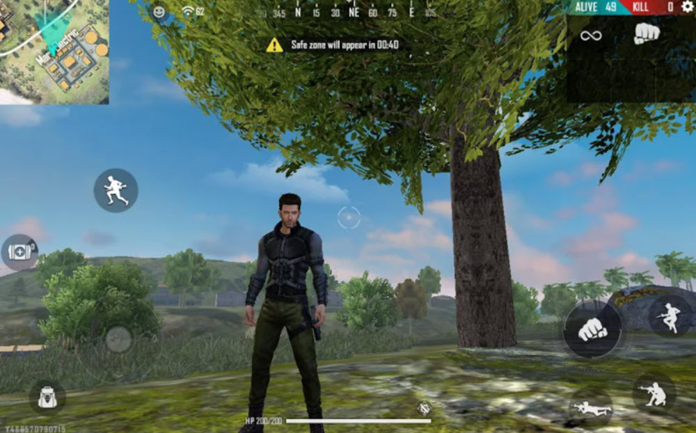 Android mobile games Free Fire