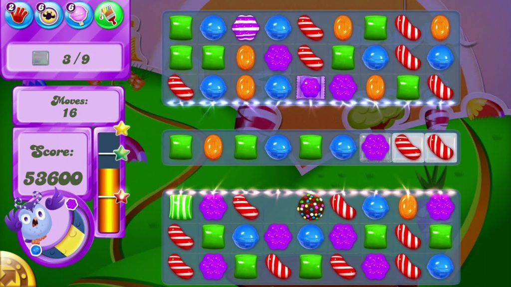 Android mobile games Candy Crush