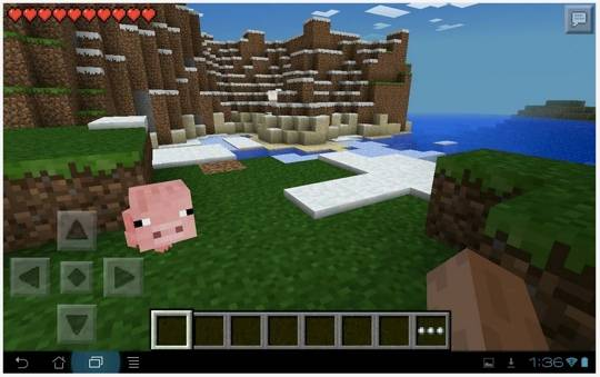 Android mobile games Minecraft