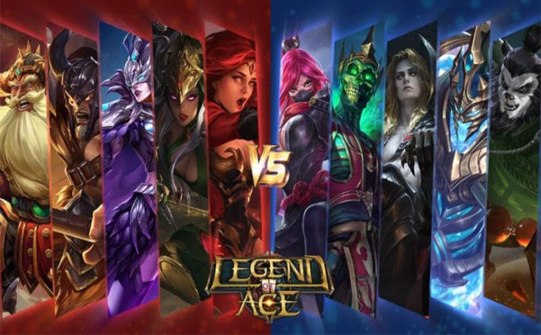 Android Moba Games legend of ace