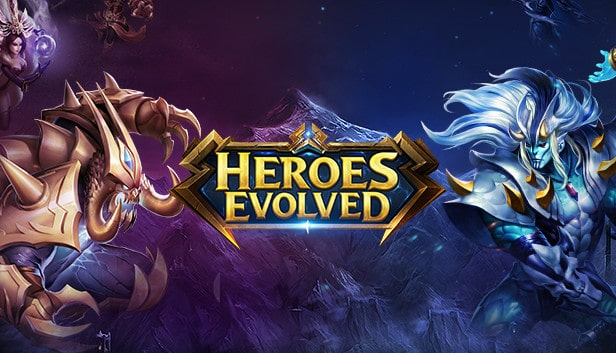 Android Moba Games heroes evolved