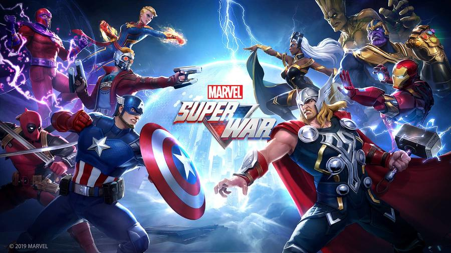 Android Moba Games Marvel